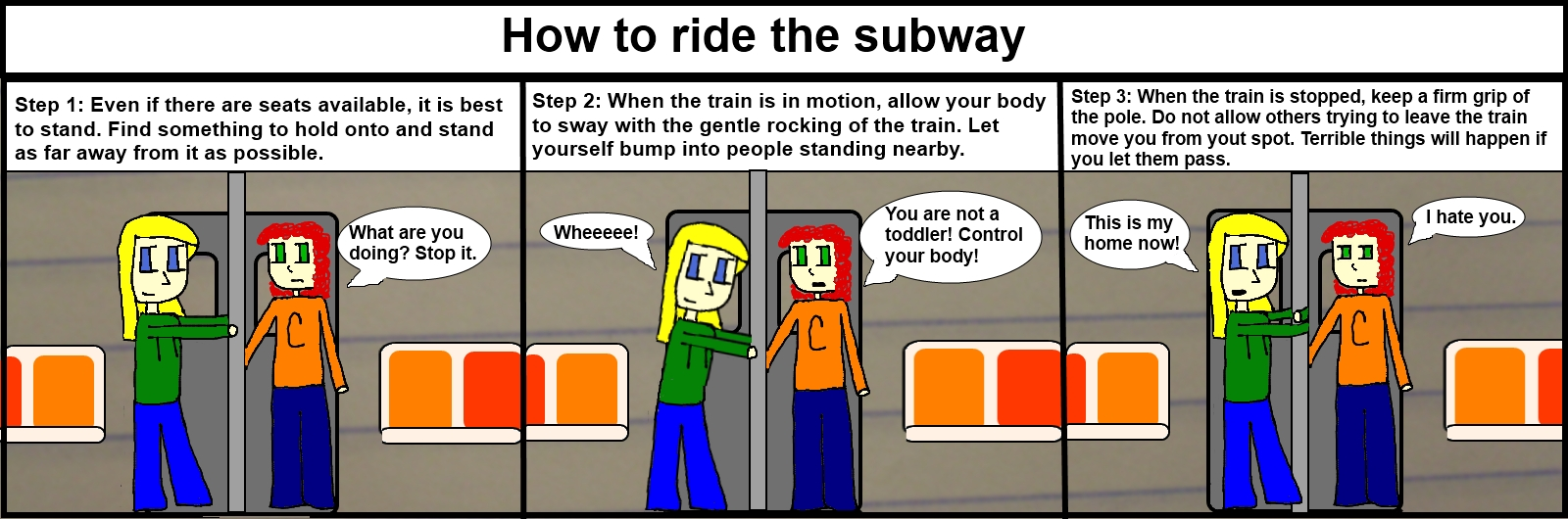 Subway Riding Tips