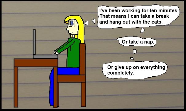 Writing Break